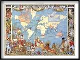 Map: British Empire  1886