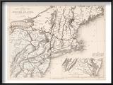 Map: Northeast USA