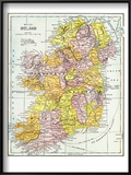 Map: Ireland  C1890