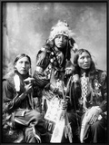 Young Sioux Men  1899