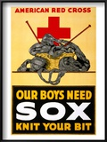 Red Cross Poster  C1917