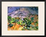 Mont Saint Victoire  1900