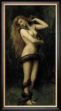 Lilith Reproduction giclée encadrée par John Collier