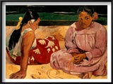 Gauguin: Tahiti Women  1891