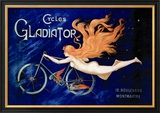 Cycles Gladiator Reproduction encadrée