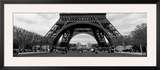Black and White  Eiffel Tower  Paris  France