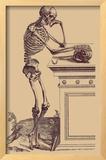 Leaning Skeleton