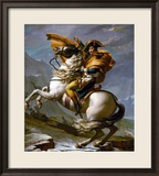 Bonaparte Crossing the Great Saint Bernard Pass  1801