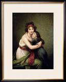 Madame Vigee-Lebrun and Her Daughter  Jeanne-Lucie-Louise (1780-1819) 1789