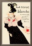 La Revue Blanche Reproduction encadrée par Henri De Toulouse-Lautrec