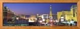 Dusk, the Strip, Las Vegas, Nevada, USA Photo encadrée par Panoramic Images