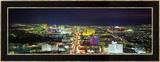 Skyline, Las Vegas, Nevada, USA Photo encadrée par Panoramic Images