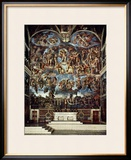 Sistine Chapel with the Retable of the Last Judgement (Fall of the Damned)