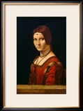 Portrait of a Lady from the Court of Milan  circa 1490-95