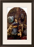 The Virgin of the Rocks (With the Infant St John Adoring the Infant Christ) circa 1508