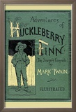 Adventures of Huckleberry Finn Reproduction encadrée