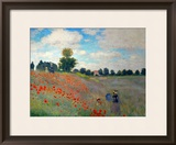 The Poppy Field  1873
