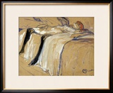 "Woman Lying on Her Back - Lassitude  Study for ""Elles""  1896"