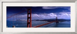 Bridge Over a River  Golden Gate Bridge  San Francisco  California  USA