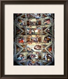 Sistine Chapel Ceiling and Lunettes  1508-12