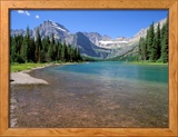 Lake Josephine with Grinnell Glacier and the Continental Divide  Glacier National Park  Montana