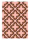Pink Floral Moth Tiles