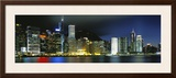 View from Wanchai  Central District  Hong Kong