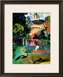 Matamoe Or  Landscape with Peacocks  1892