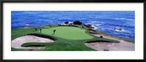 Golfers Pebble Beach  California  USA