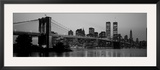 Brooklyn Bridge  Manhattan  New York City  New York State  USA