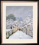 Snow at Louveciennes  1878