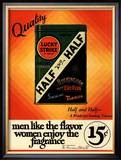 Lucky Strike  Cigarettes Smoking  USA  1930