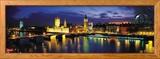 Nuit, Londres, Angleterre, Royaume-Uni Photo encadrée par Panoramic Images