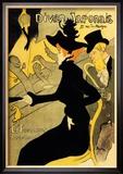 Divan Japonais Reproduction encadrée par Henri De Toulouse-Lautrec