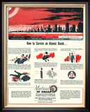 Humour Nuclear Atomic Bombs  USA  1951