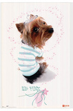 Big Flirt (Puppy Dog) Art Print Poster