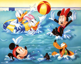 Mickey Mouse and Friends Pool Games