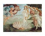 Naissance de Vénus Reproduction d'art par Sandro Botticelli