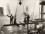 New York City Men on Girder High Life Lunch Above Manhattan
