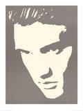 Elvis Presley Photo Negative Effect