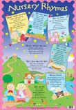 Laminated Nursery Rhymes Educational Chart Poster Print
