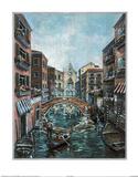 Jose (Venice Canal  2) Art Print Poster