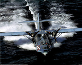 PBY5A Catalina (On Water) Art Poster Print