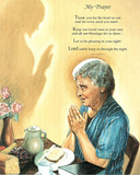 My Prayer religious Jesus GOD Art Print POSTER blessing