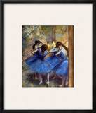 Degas: Blue Dancers  C1890