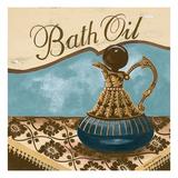 Bath Accessories II - Blue Bath Oil