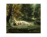 Death of Ophelia  1859