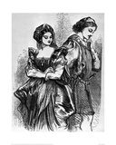 Benedick and Beatrice  1856 (Much Ado About Nothing)