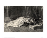 Romeo and Juliet (woodcut)