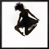 Woman Jumping in the Air Dancing